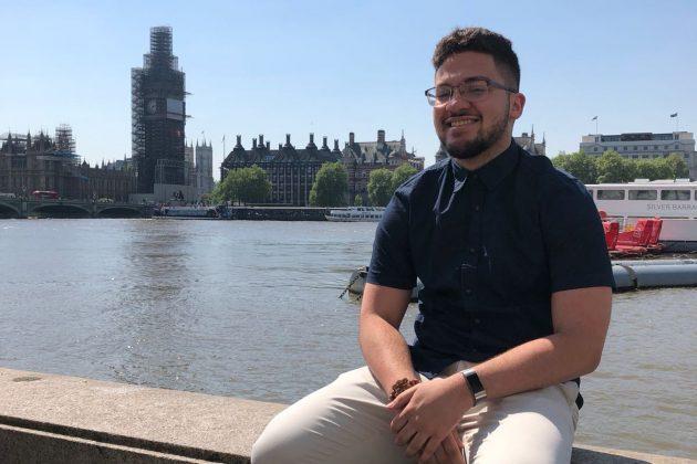 Education Abroad: Omaniel Ortiz '20, London, England