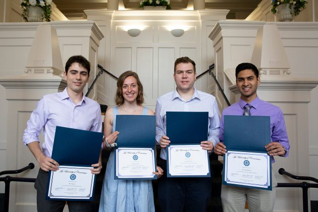 Four UConn Students Named Goldwater Scholars