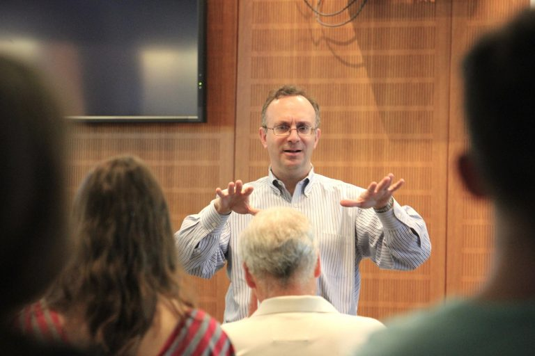 Nate Rickles teaches a Continuing Education Class in 2019.