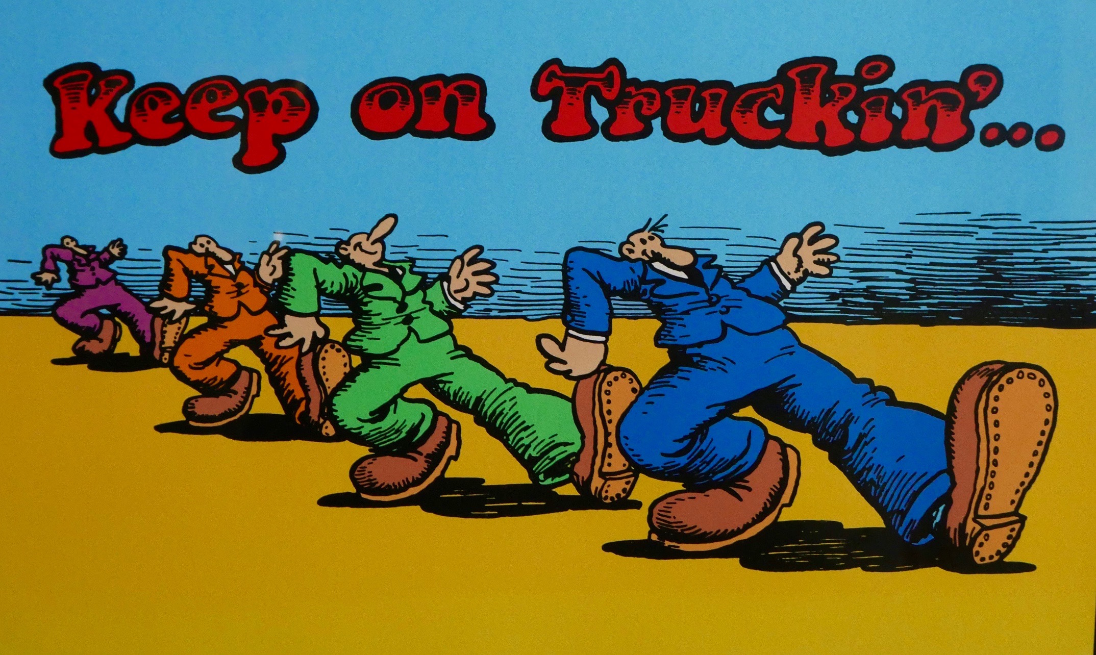 Image result for keep on truckn