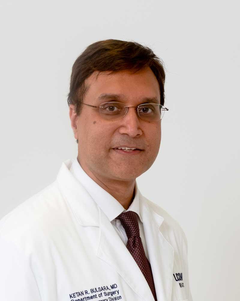 Dr. Ketan Bulsara portrait white coat