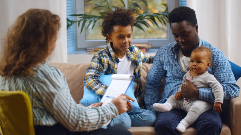 A social worker visiting with a young family, the type of situation where a common diagnostic tool is most important, but can also be easily misused, according to new research.