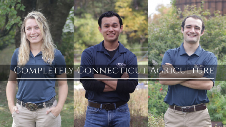 Student filmmakers Alyson Schneider, Jon Russo, and Zachary Duda explore Connecticut agriculture in a new documentary.