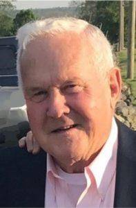 Portrait of elderly white man
