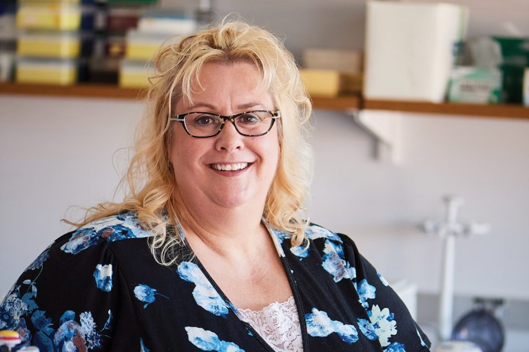 Headshot of professor Judy Brown
