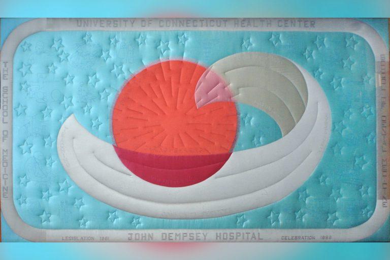 UConn Health Auxiliary quilt