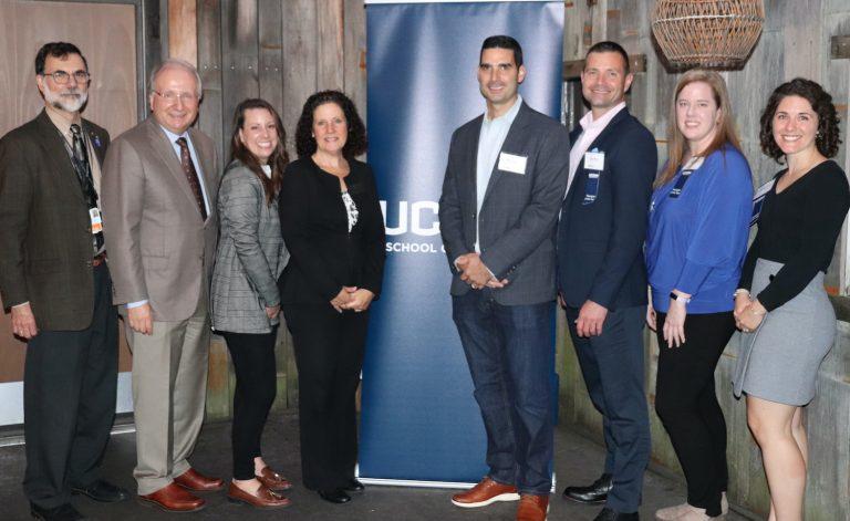 8 individuals at UConn Preceptor Awards